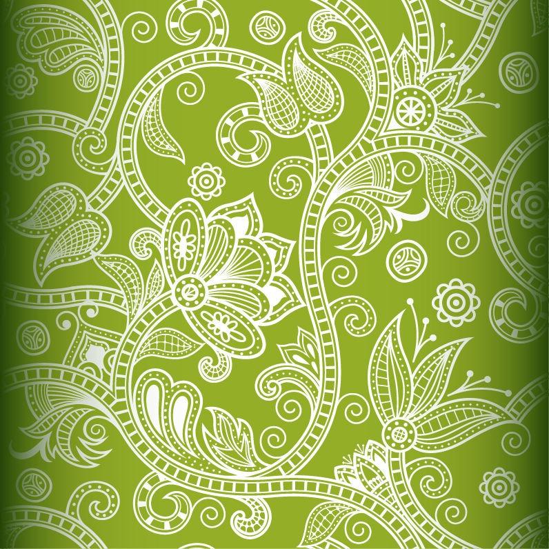 Elegant Vector Background Patterns